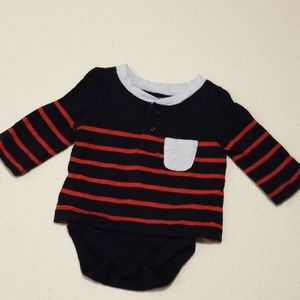 Like new 0-3mo gap Tshirt body suit